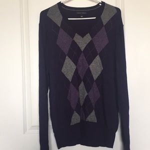 EUC | Banana Republic | Sweater | Men's L | Purple